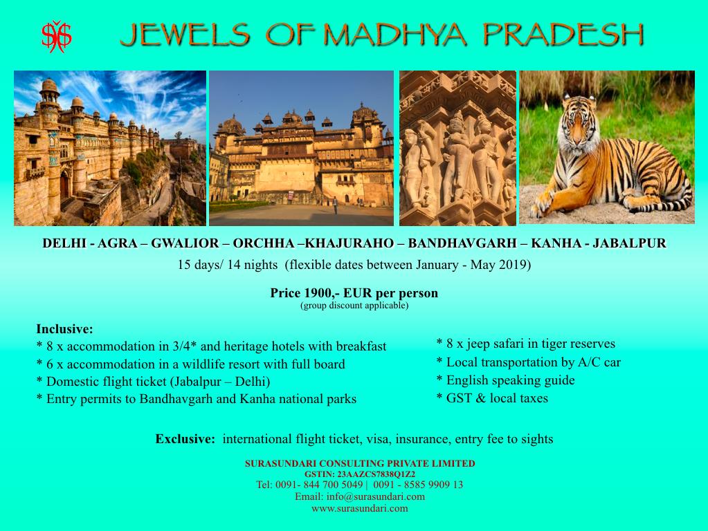 Jewels of Madhya Pradesh