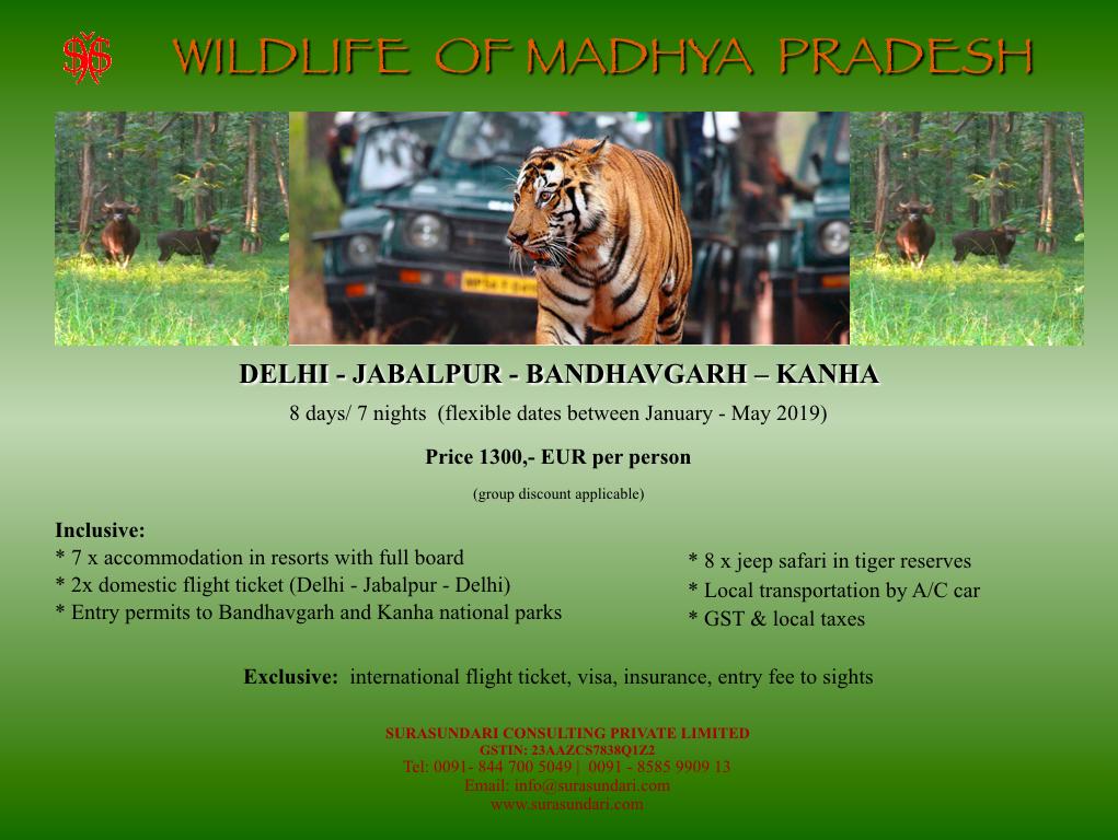 Wildlife of Madhya Pradesh