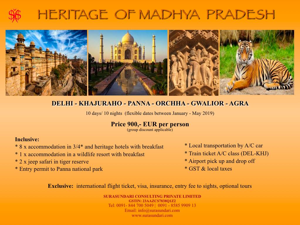 Heritage of Madhya Pradesh